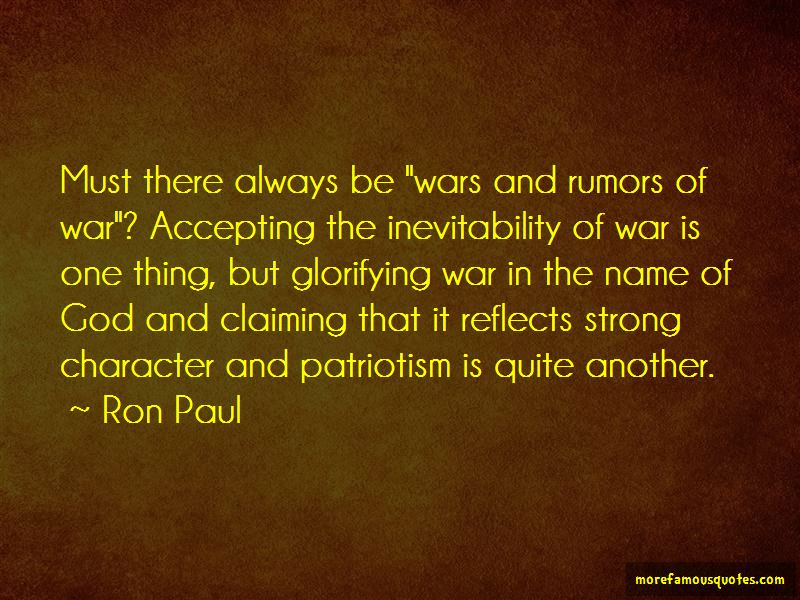 inevitability of war The american civil war is one of the most prominent events in american history, and it changed many things not just in america alone, but in the world as well rapid thought tells us that yes, this was an.