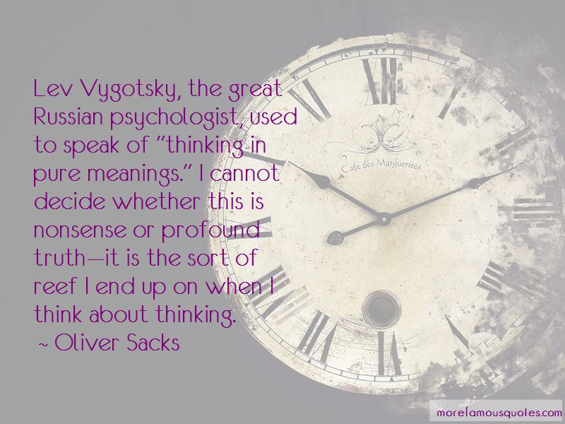 Quotes About Lev Vygotsky