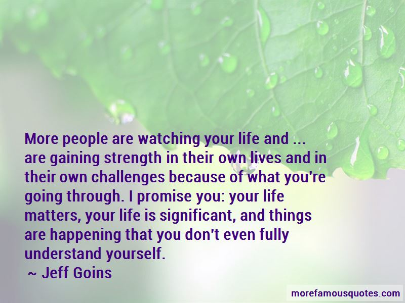 Quotes About Life Matters