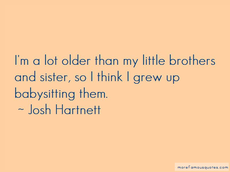 Little Brothers From A Sister Quotes Pictures 3