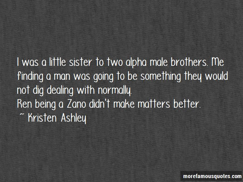 Quotes About Little Brothers From A Sister