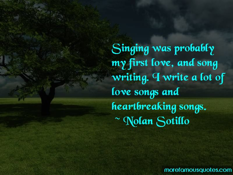 Quotes About Love And Song