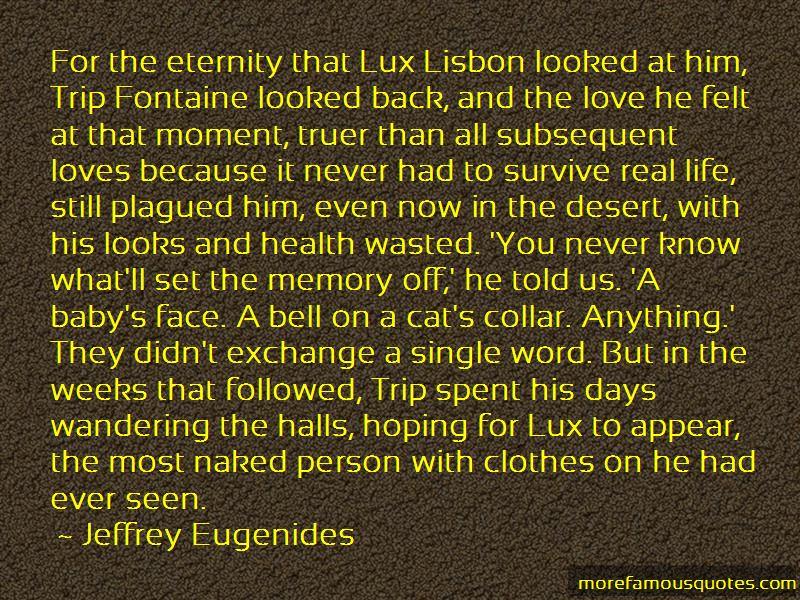 Lux Lisbon Quotes Pictures 2
