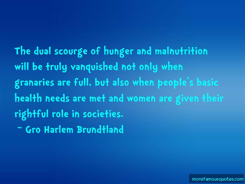 Malnutrition And Hunger Quotes Pictures 2