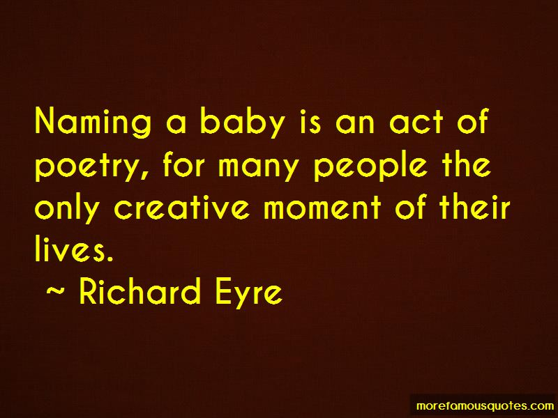 Quotes About Naming A Baby