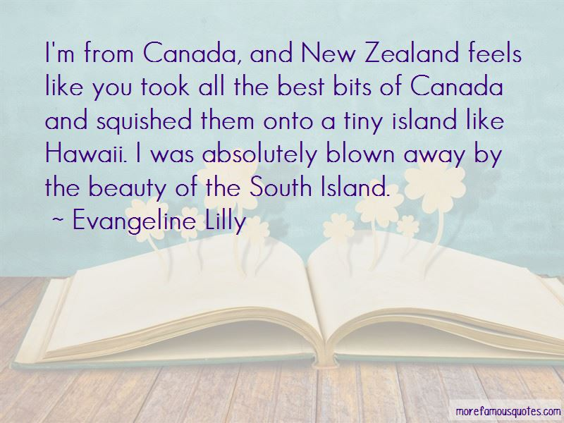 Quotes About New Zealand Beauty