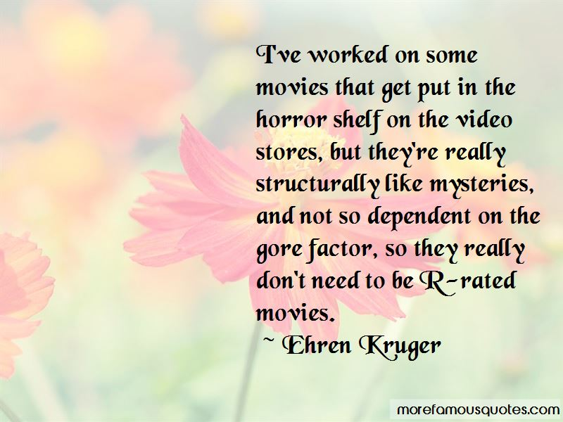 Quotes About R Rated Movies