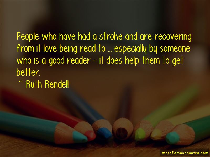 Recovery from a stroke