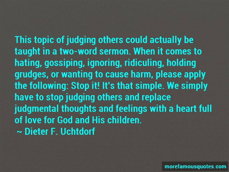 Quotes About Ridiculing Others