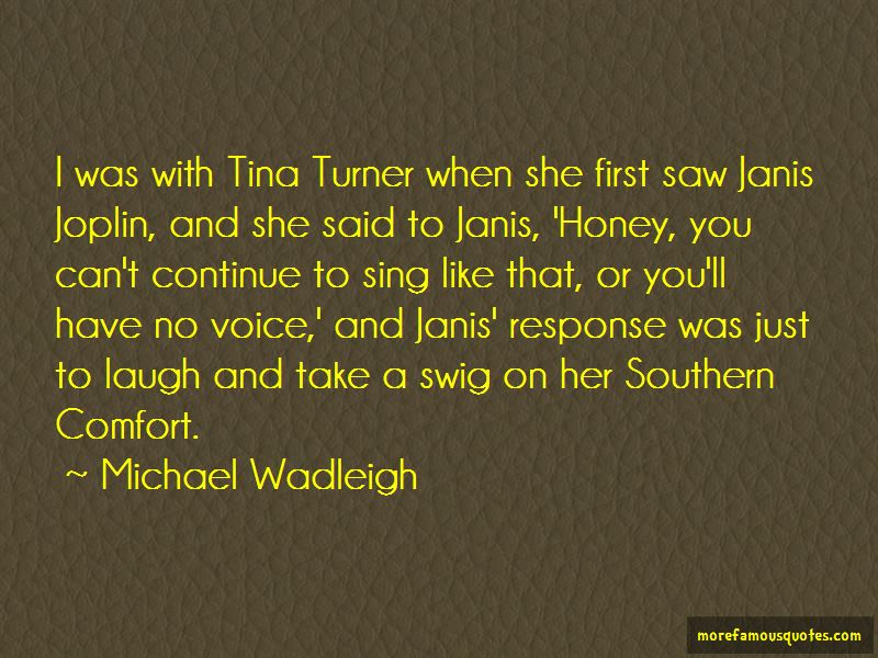 Quotes About Southern Comfort