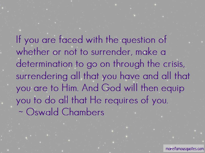 Surrendering To God Quotes Pictures 4