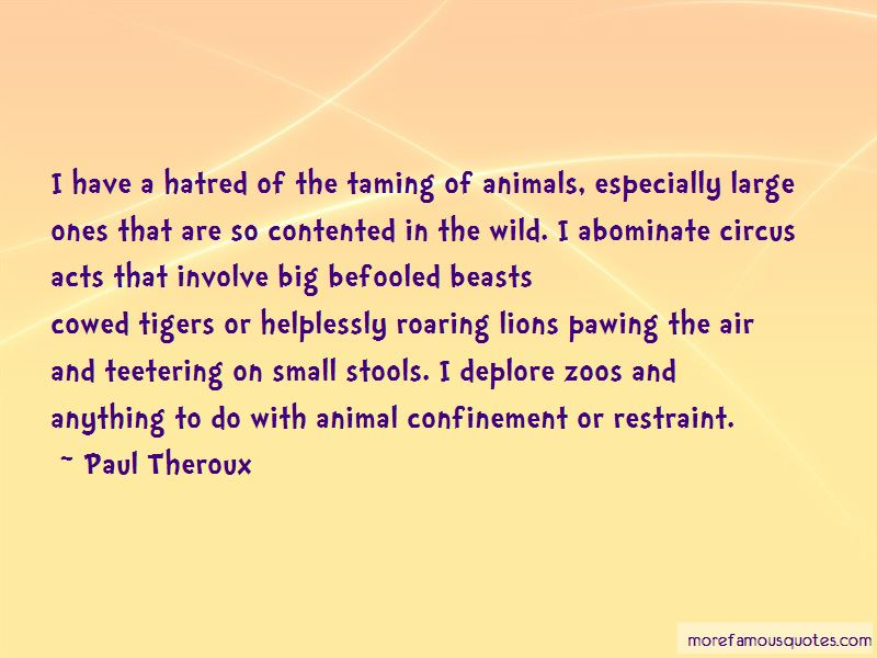Taming Animals Quotes Pictures 2
