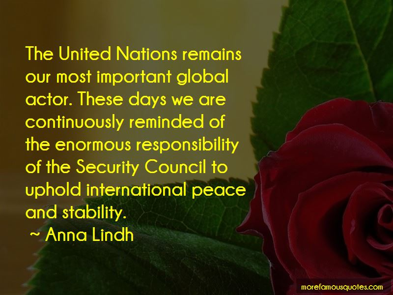 Quotes About The United Nations