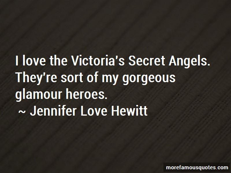 Quotes About Victoria's Secret Angels