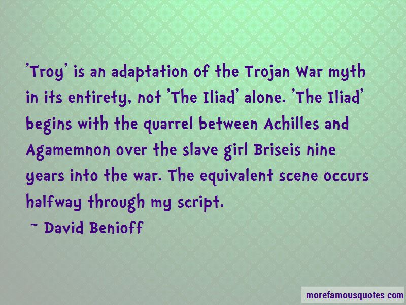 Quotes About War In The Iliad