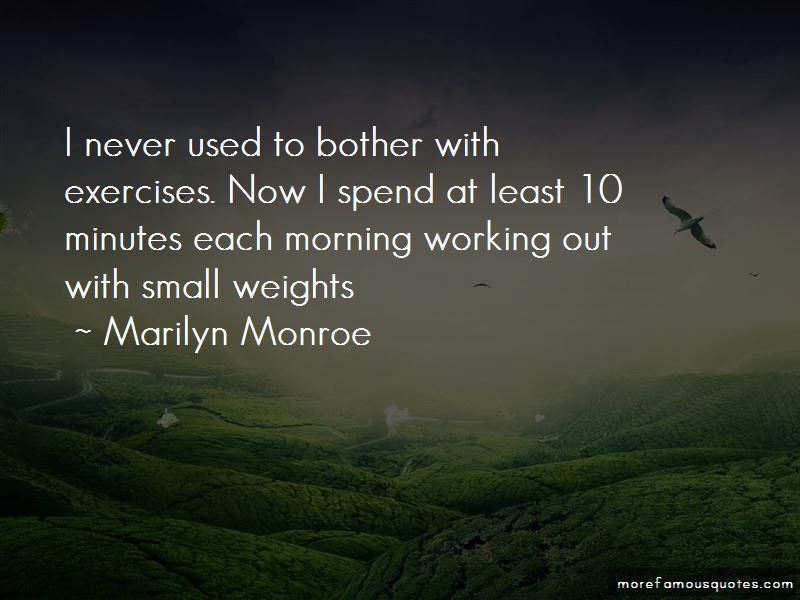 Quotes About Working Out In The Morning