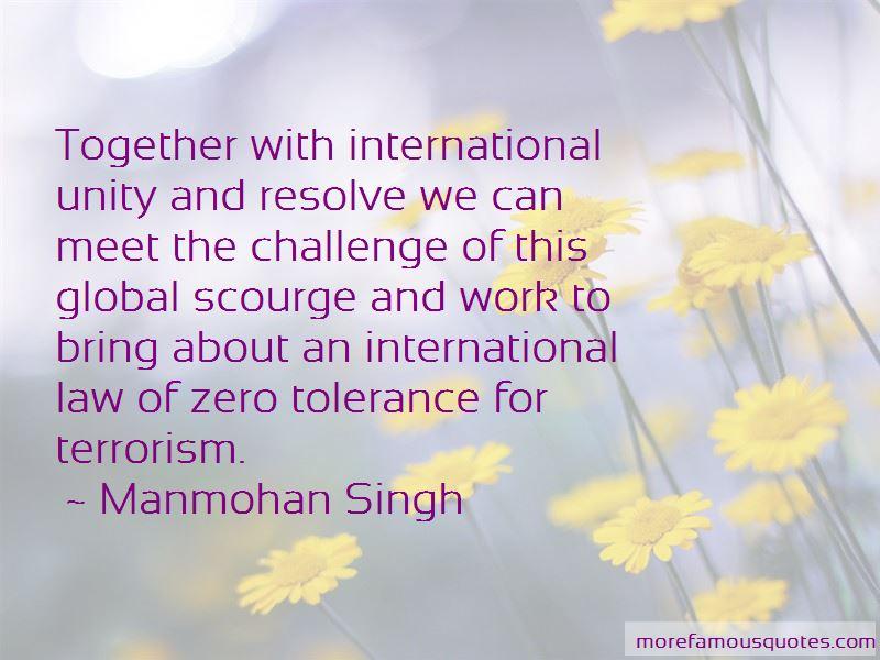 Quotes About Zero Tolerance