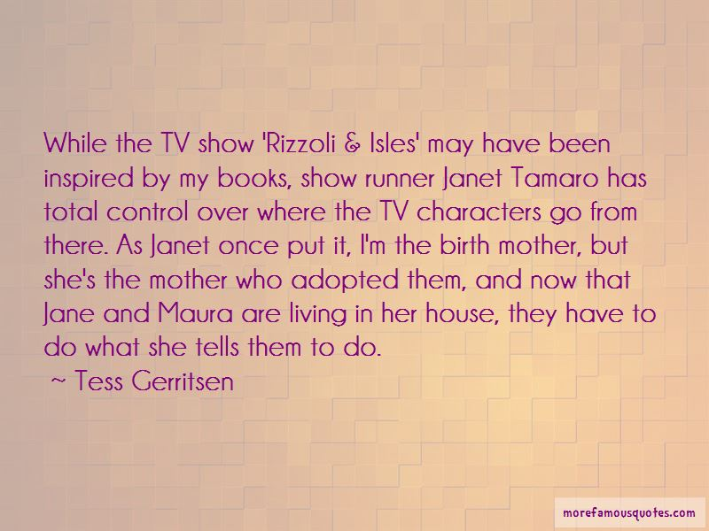 Rizzoli And Isles Jane Quotes