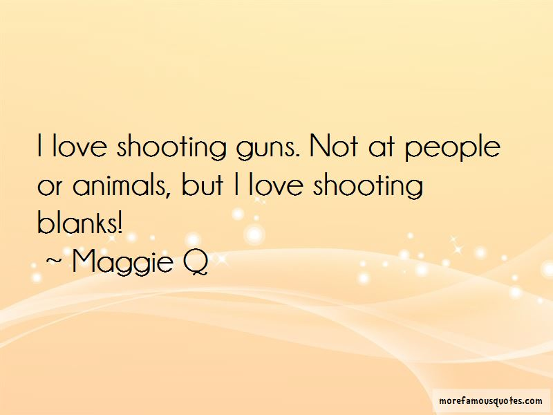 Shooting Blanks Quotes Pictures 3