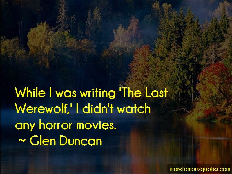 The Last Werewolf Quotes