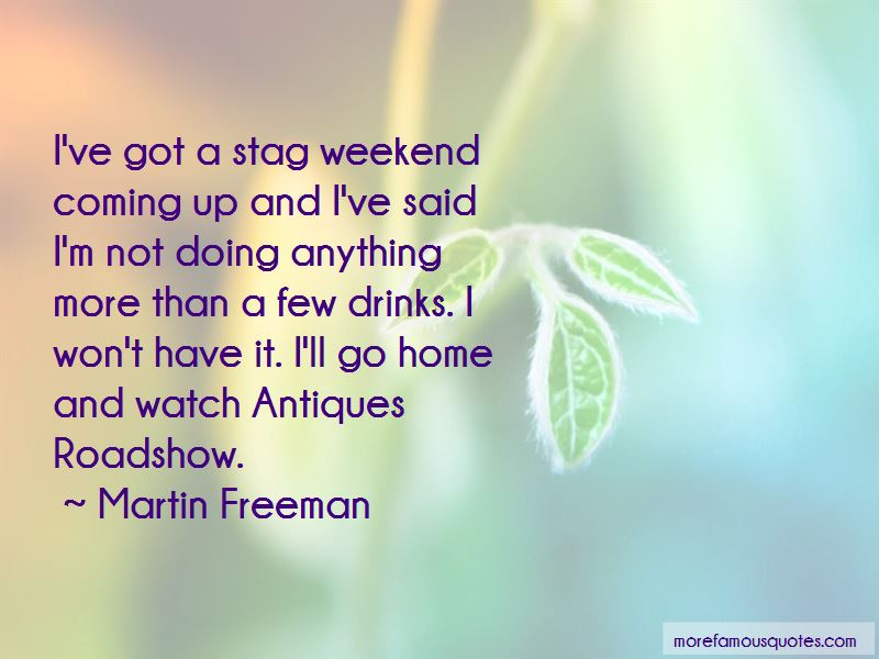Weekend Drinks Quotes