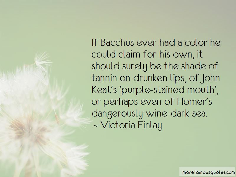 Wine Stained Lips Quotes