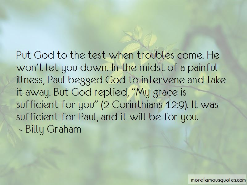 2 Corinthians 12 Quotes