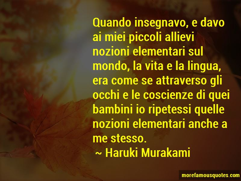 Bambini Quotes