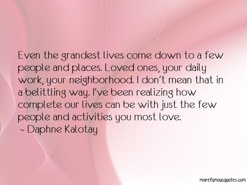 Belittling Love Quotes