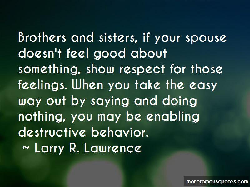 Enabling Behavior Quotes