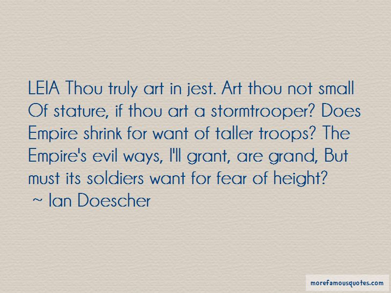 Fear Of Height Quotes