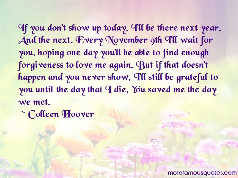 Hoping For Forgiveness Quotes