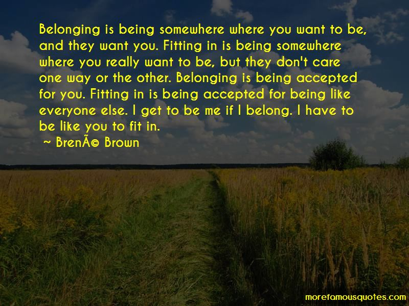 I Belong Somewhere Else Quotes Pictures 4