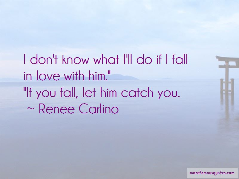 If I Fall In Love Quotes