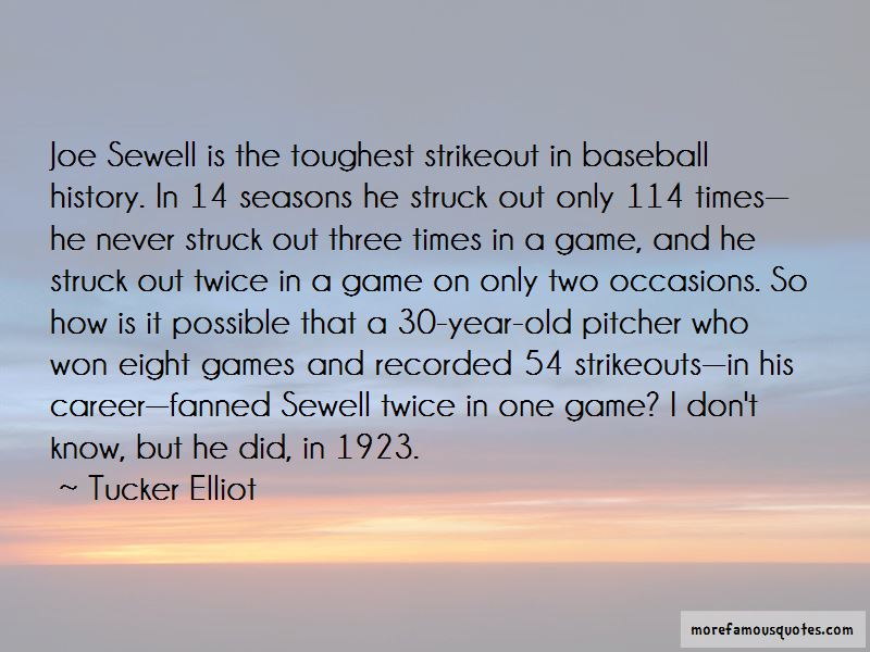 Joe Sewell Quotes