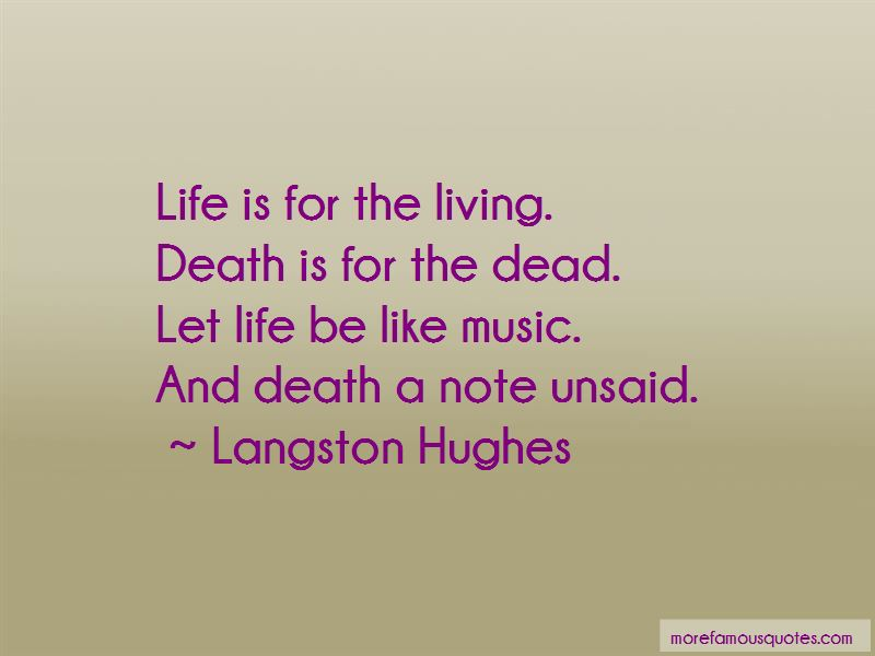 Life Is For Quotes