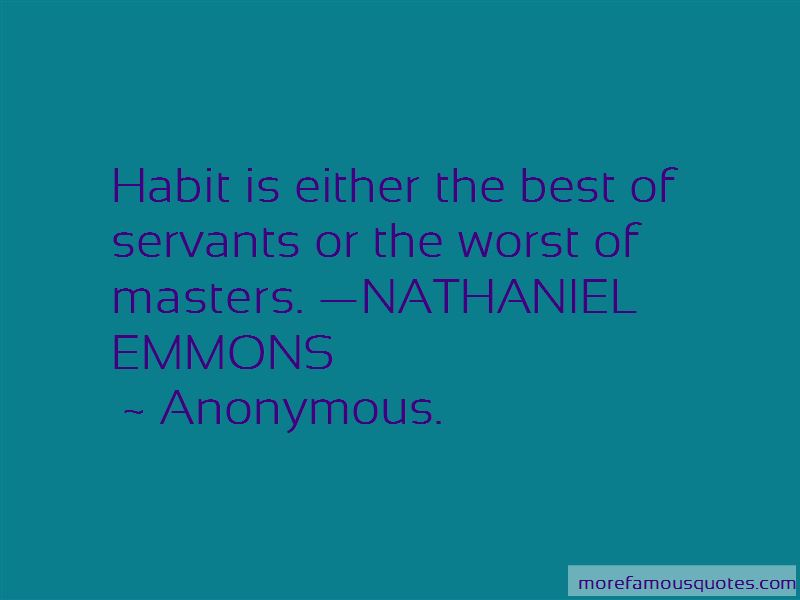 Nathaniel Emmons Quotes