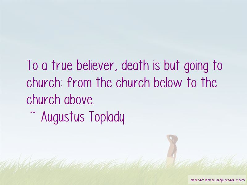 Quotes About A True Believer
