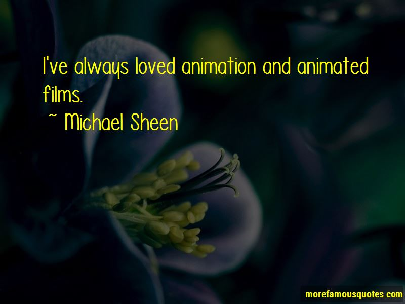 Quotes About Animated Films