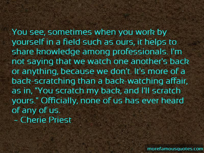 Back Scratching Quotes Pictures 2