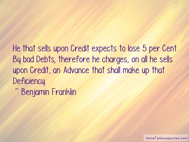 Quotes About Bad Debts