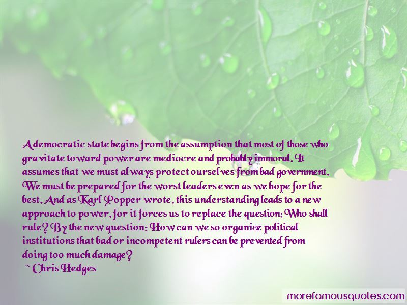 Quotes About Bad Political Leaders