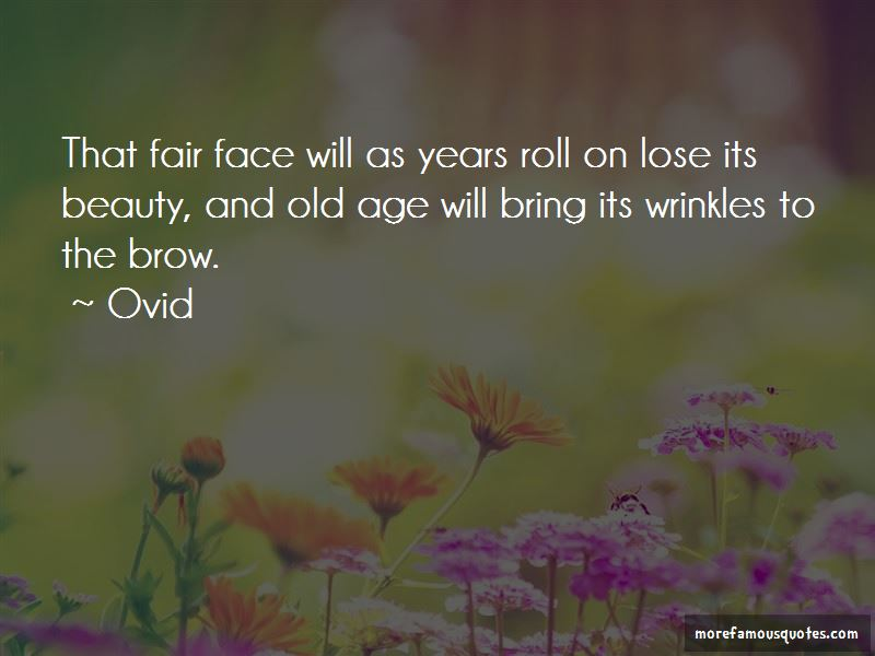 Quotes About Beauty And Old Age