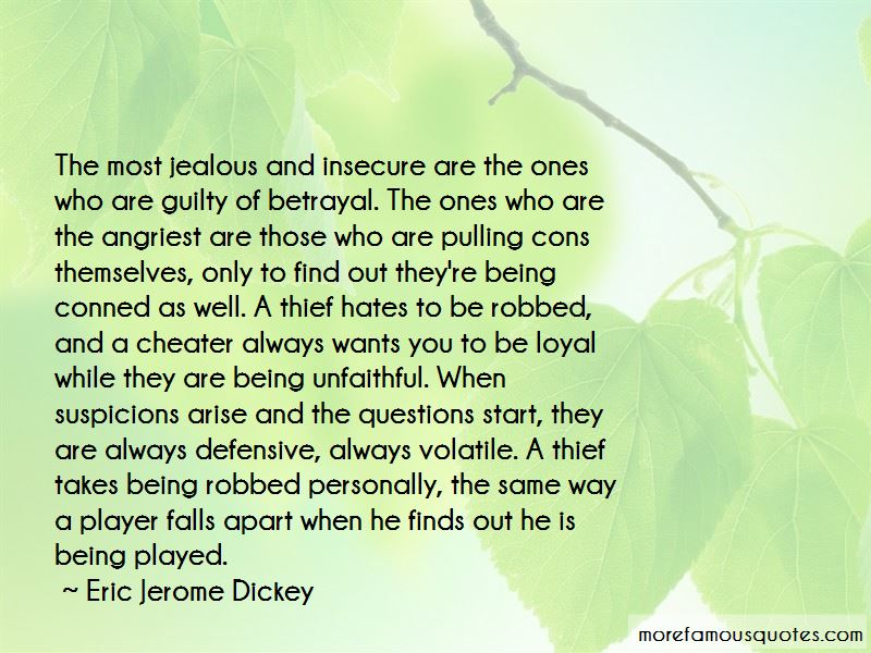Quotes About Being Insecure And Jealous
