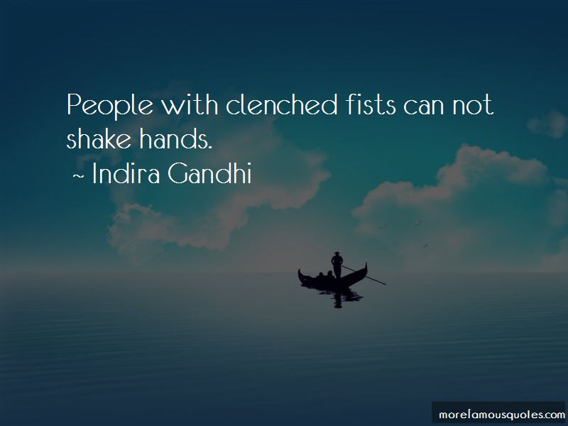 Quotes About Clenched Fists