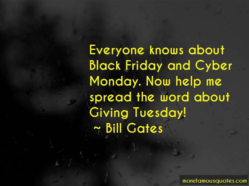 Quotes About Cyber Monday