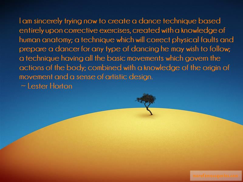 Quotes About Dance Technique