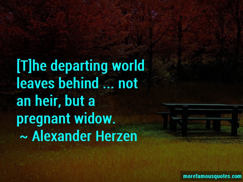 Quotes About Departing