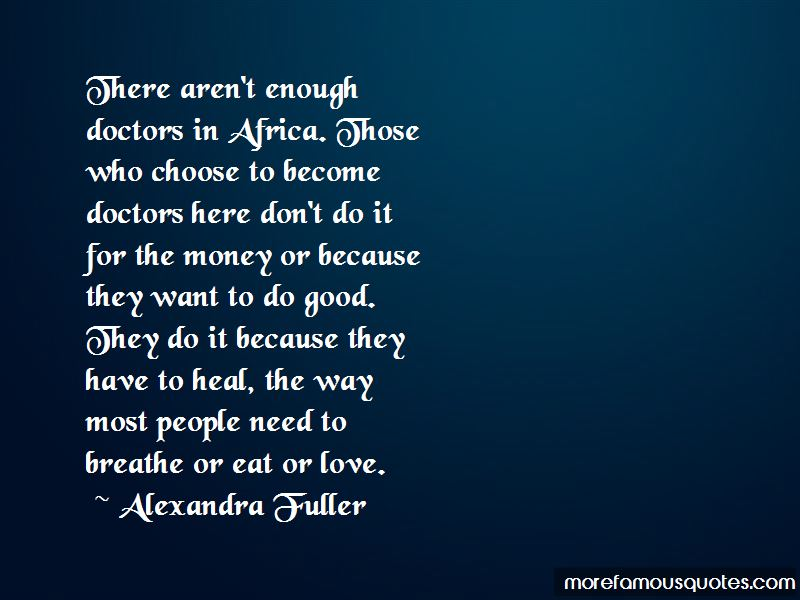 Quotes About Doctors And Money