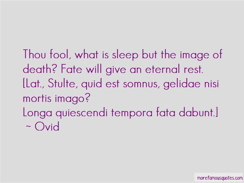 Quotes About Eternal Rest
